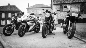 4 motos, 4 styles, 4 copains...